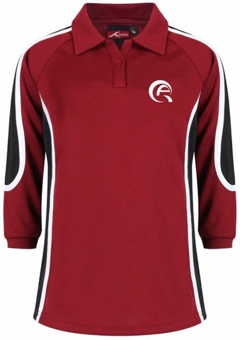 QA SPORTS POLO - LONG SLEEVED - AL KHOR