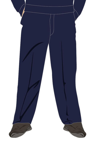 QFIS BOYS JUNIOR TROUSERS - NAVY