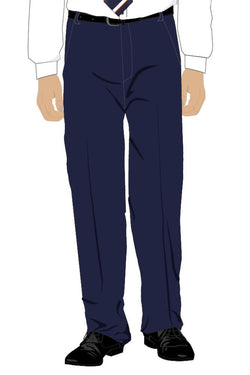 QFIS BOYS SENIOR TROUSERS - NAVY