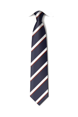 "QFIS 14"" CLIP-ON TIE - SENIOR"