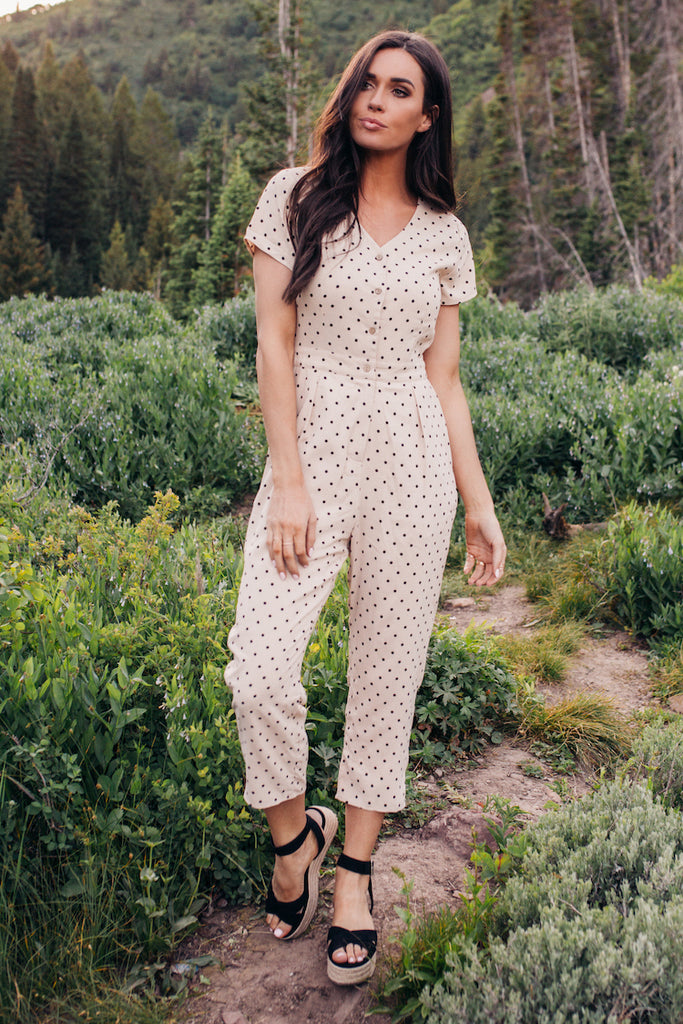 The London Polka Dot Jumpsuit