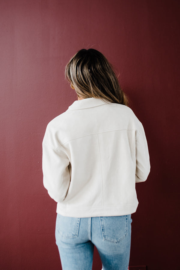 Janet Jacket in Pearl