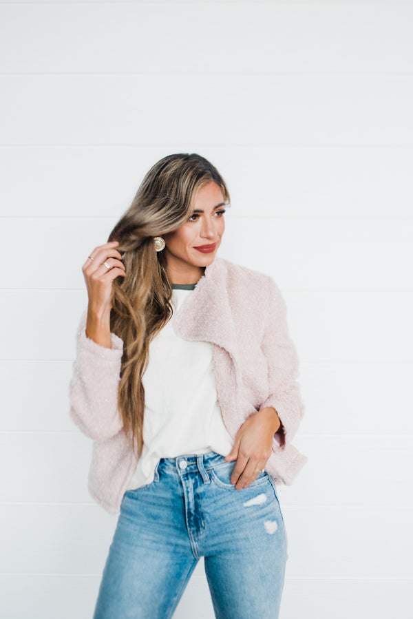 Giselle Jacket in Blush