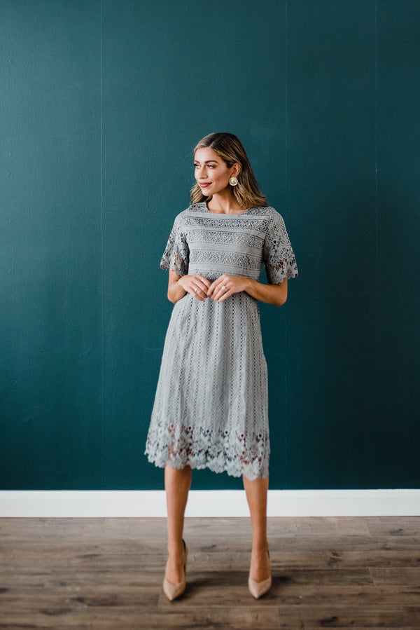Marcie Dress in Grey