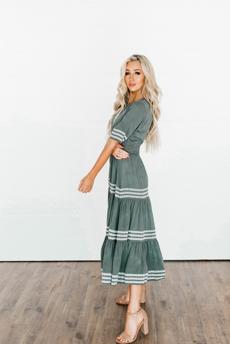 Green Thanksgiving Dress