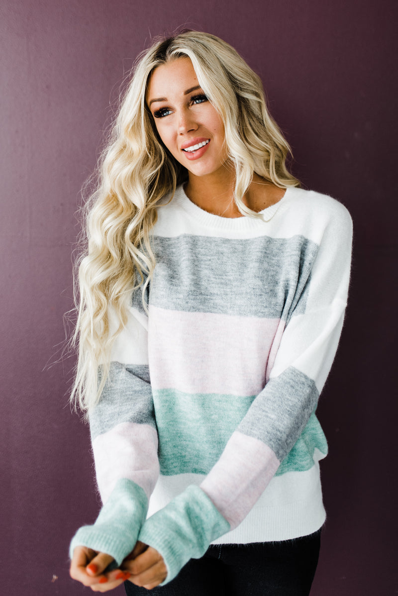 Ophelia Sweater in Pink
