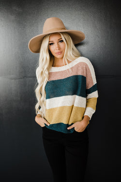 Ciara Sweater in Hunter Green