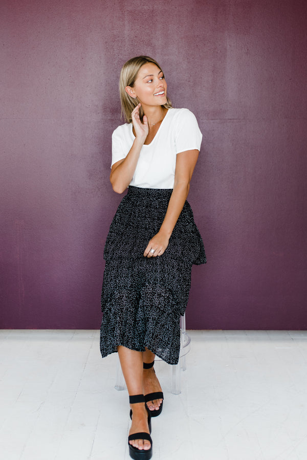 Kelly Skirt in Black