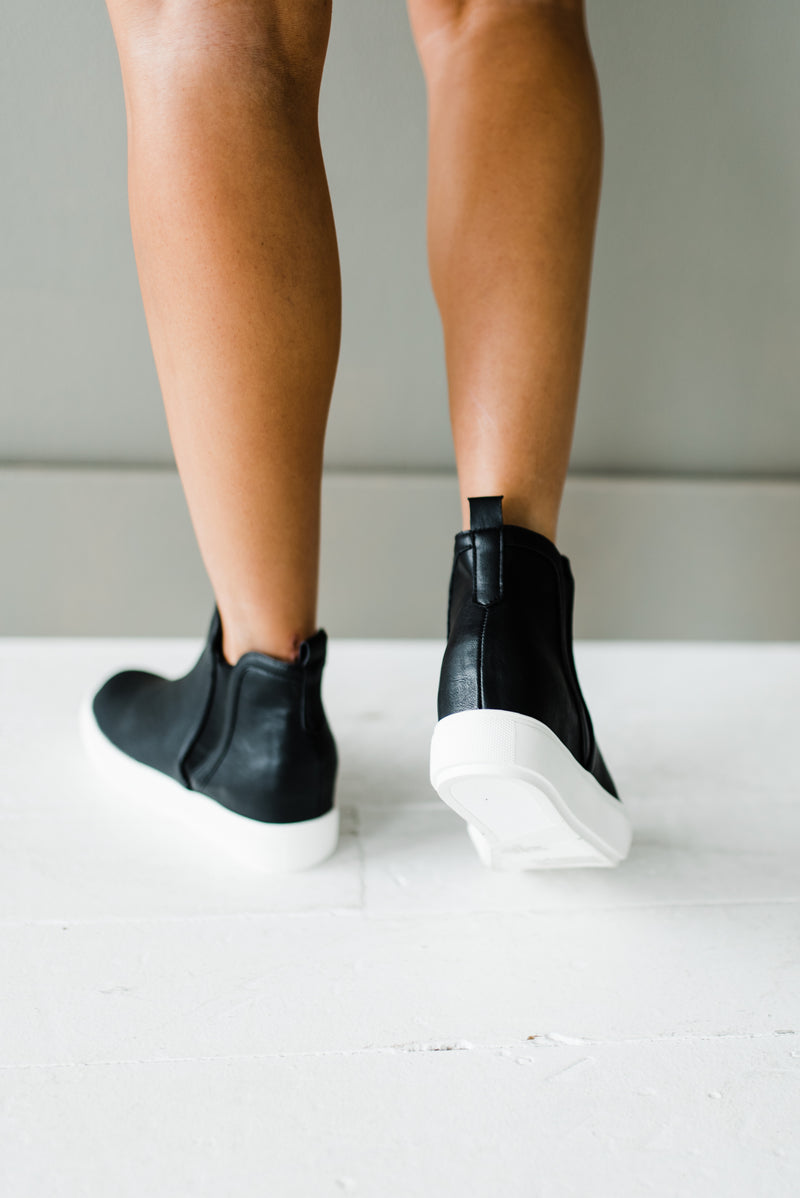 Platform sneakers for women