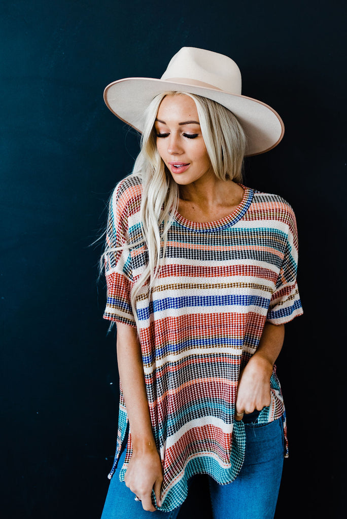 Soft striped spring shirt
