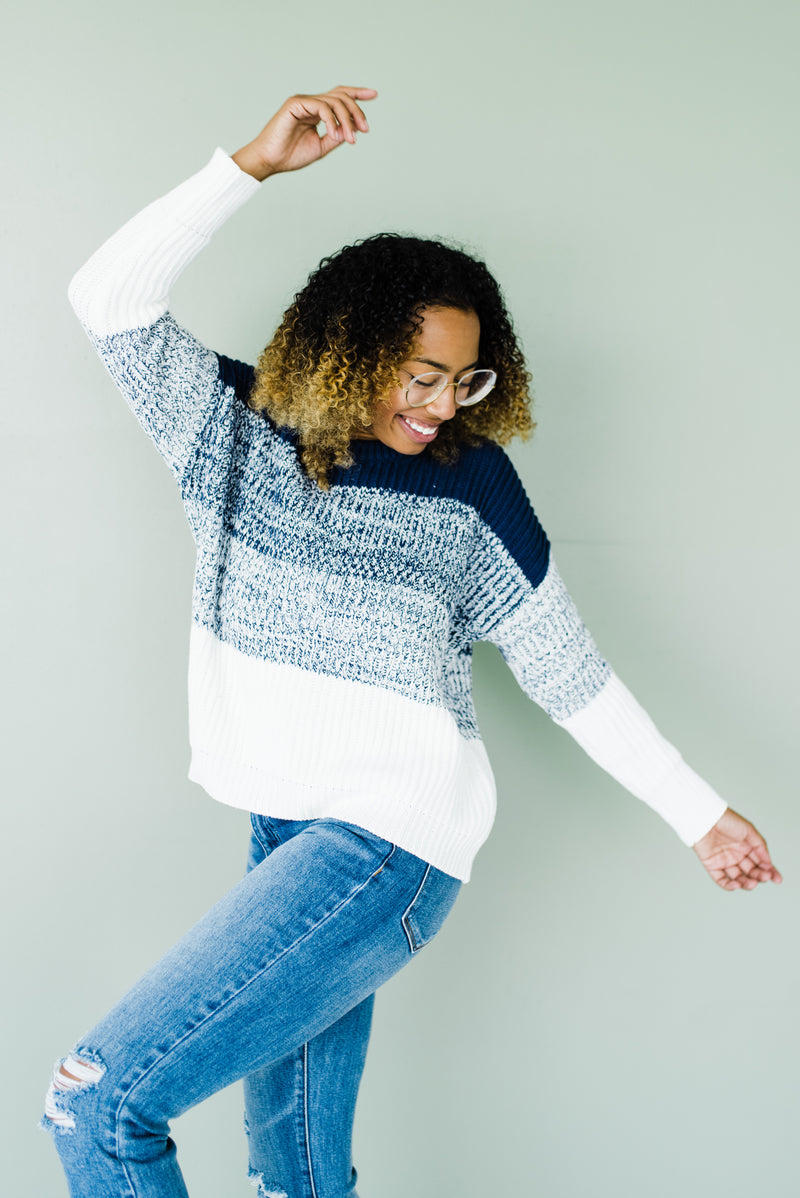 Lulu Sweater in Blue