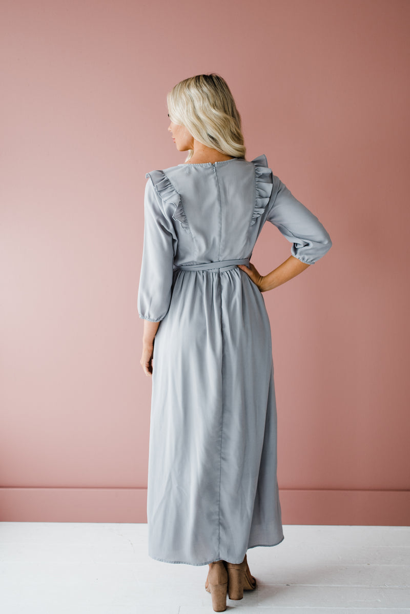 Kinna Dress in Gray