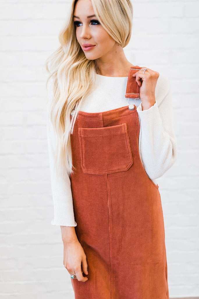 The Elora Overall Dress