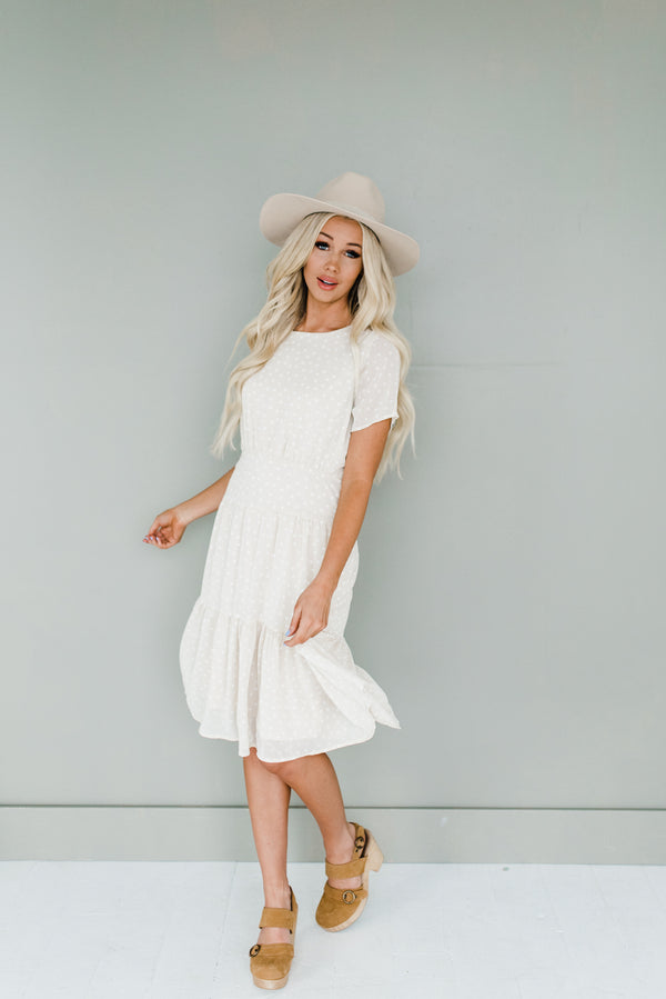 Kamron Dress in Cream