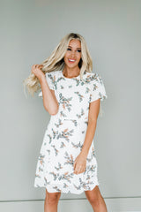 Kassidy Dress in White