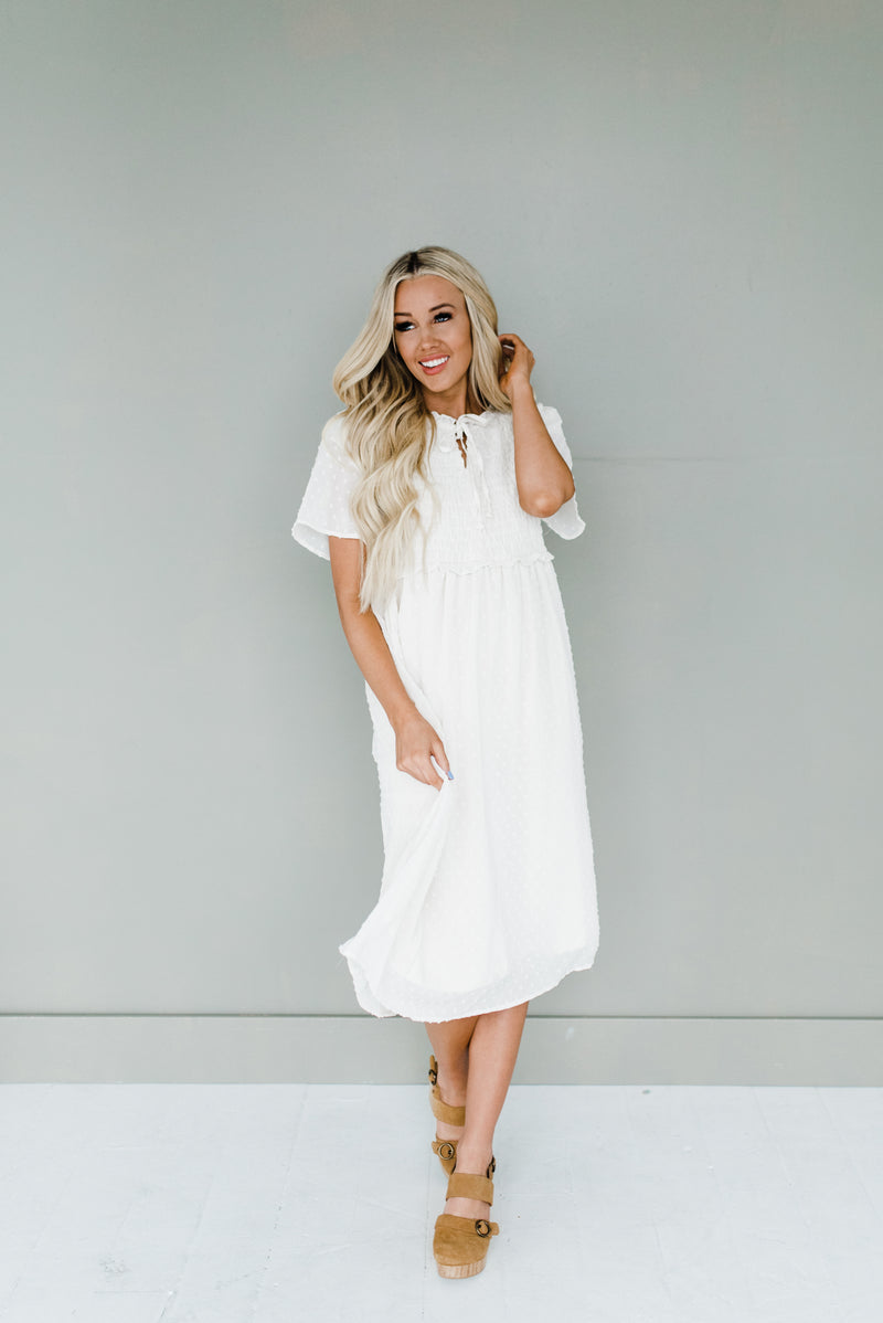 Ellen Dress in Cream
