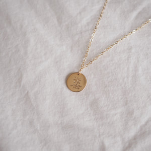 Stella Maris Disc Necklace