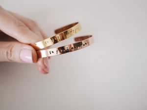 In Good Company Cuff Bracelet