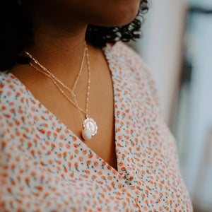 Tide Lariat Style Necklace