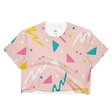 Limited Edition 90's Splat Crop Top