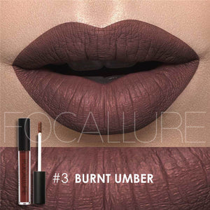 Burnt Umber Matte Liquid Lipstick
