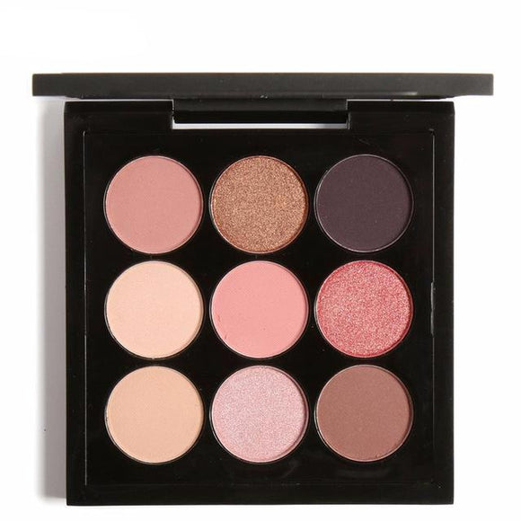 Barely There 9 Colour Shimmer Eye Palette