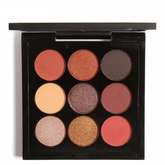 Autumn Stunner 9 Colour Shimmer Eye Palette