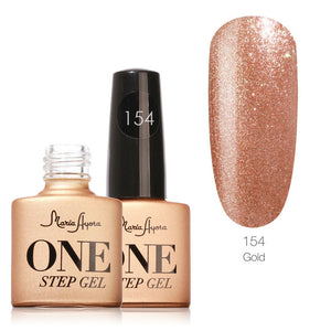Gold One Step Nail Gel