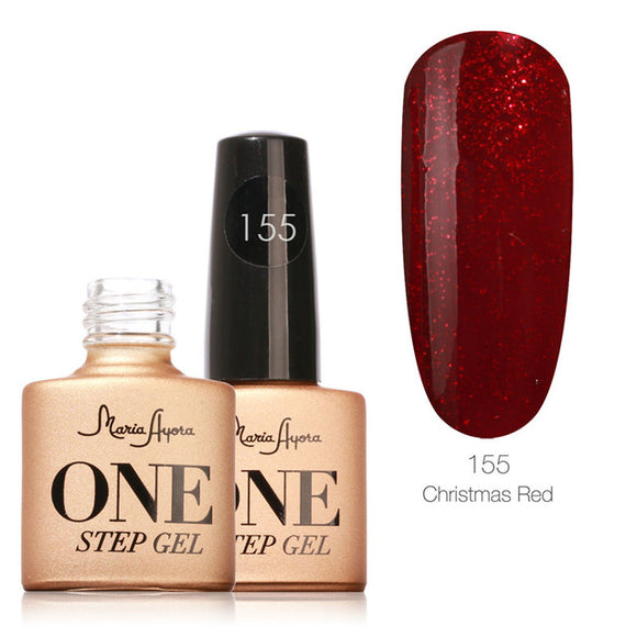 Christmas Red One Step Nail Gel