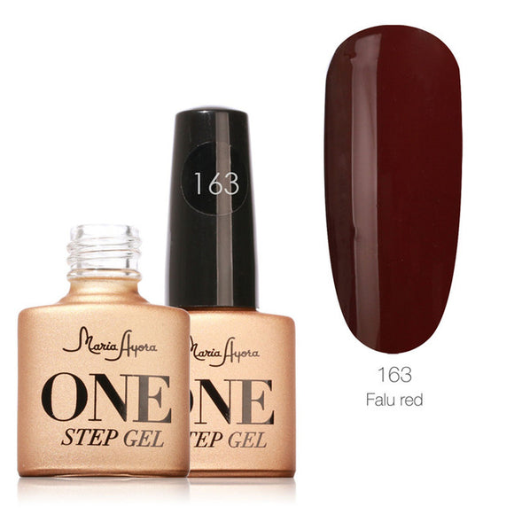 Falu Red One Step Nail Gel