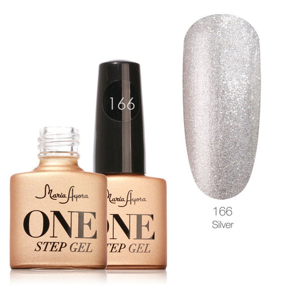 Silver One Step Nail Gel