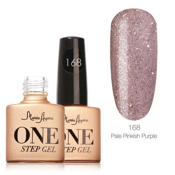 Pale Pinkish Purple One Step Nail Gel