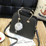 Mink Charm Shoulder Bag