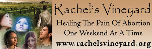 Rachel's Vineyard Healing the pain of Abortion one weekend at a time www.rachelsvineyard.org