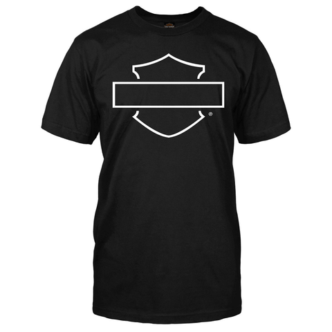 Harley-Davidson Blank Bar & Shield Men's Tee
