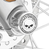 Harley-Davidson Willie G. Skull Front Axle Nut Covers