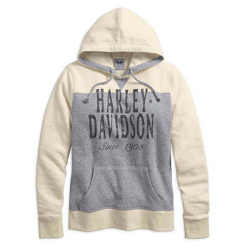 Harley-Davidson Two Tone Colourblock Women's Hoodie