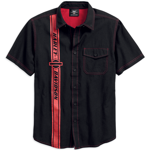 Harley-Davidson Vertical Stripe Men's Shirt