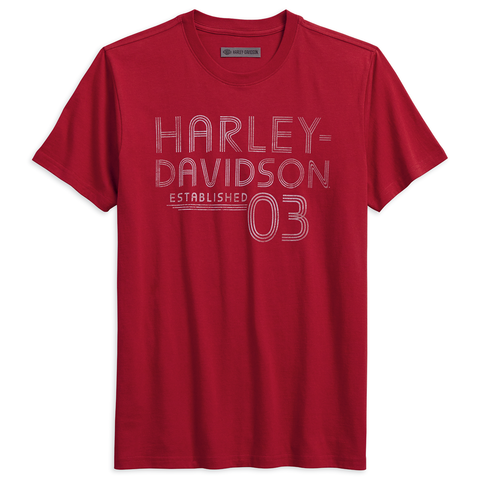 Harley-Davidson Established 03 Men's Tee
