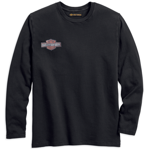 Harley-Davidson Sublimated Embroidered Men's Tee