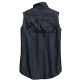 Harley-Davidson Sleeveless Denim Women's Shirt
