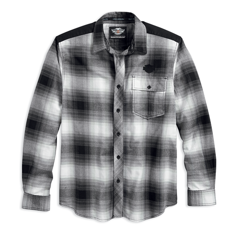 Harley-Davidson Overlay Plaid Men's Shirt