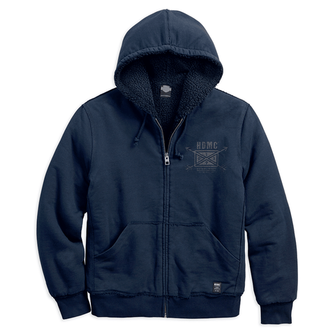 Harley-Davidson HDMC Arrow Men's Slim Fit Hoodie