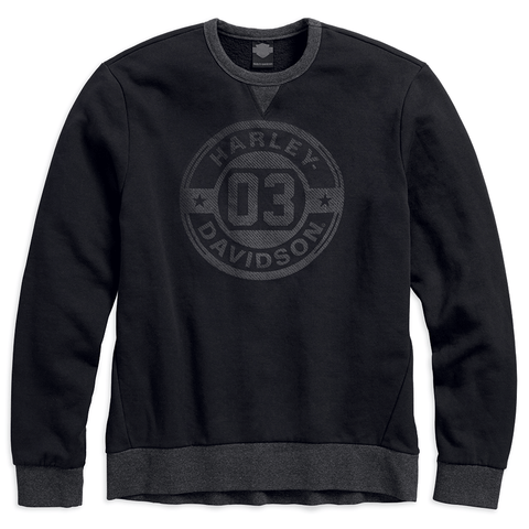Harley-Davidson Circle 03 Men's Pullover Slim Fit Sweatshirt