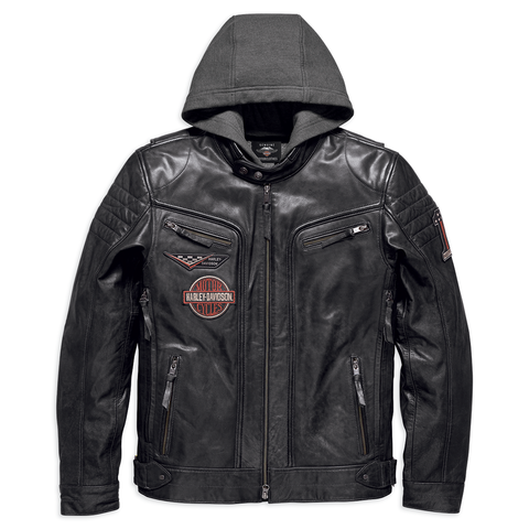 Harley-Davidson Marmax 3-in-1 Men's Leather Jacket