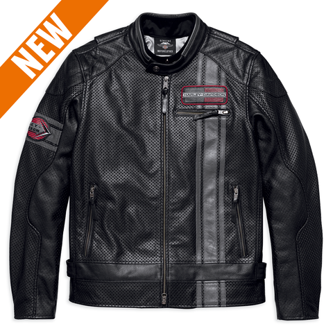Harley-Davidson Manta Coolcore Technology Men's Leather Jacket