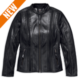 Harley-Davidson Venos Coolcore Technology Women's Perforated Leather Jacket