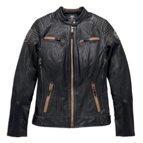 Harley-Davidson Maize Women's Leather Jacket