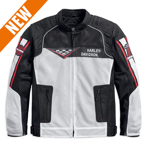 Harley-Davidson Wind Cave Coolcore Technology Men's Mesh Jacket