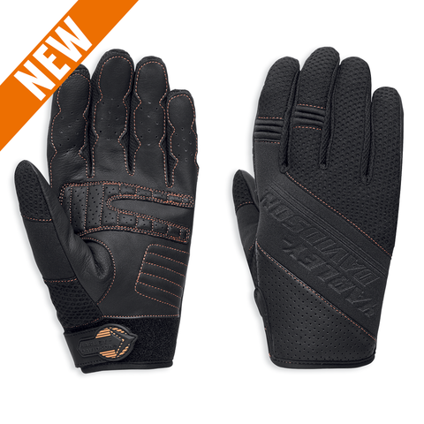 Harley-Davidson Arbon Coolcore Technology Men's Mesh Gloves